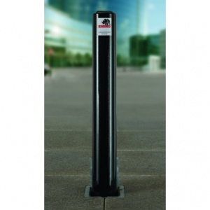 <u>Rhino RT/14/HD Lift Assist <font face=''Arial'' color=''#cc0605''> Anti-Ram</font> Round Commercial Telescopic Bollard</u>