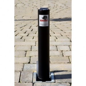 <u>Rhino RT / RD4 Domestic Round Galvanised Steel Telescopic Bollard</u>