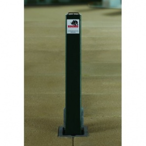 <u>Rhino RT/SQ8/HD <font face=''Arial'' color=''#cc0605''>Anti-Ram</font>  Square Commercial Telescopic Bollard</u>