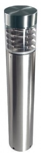 <u>Arica Illuminated Flat Top Stainless Steel  Bollard</u>