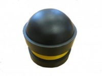 <u>NBL Rubber Domed Cap for 89mm Diameter Protection Steel Post</u>