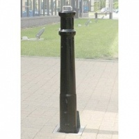 <u>RAM RRB/PSU <font face=''Arial'' color=''#cc0605''> Anti-Ram</font> Ornamental Polymer Telescopic Bollard</u>