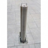 <u>RAM RRB / S4 Domestic Round Stainless Steel Telescopic Bollard</u>