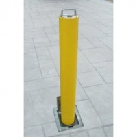 <u><strong>RAM RRB / D4 Domestic Round Galvanised Steel Telescopic Bollard</u></strong>