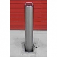 <u><strong>RAM RRB/S5 <font face=''Arial'' color=''#cc0605''> Anti-Ram</font> Commercial Round Stainless Steel Telescopic Bollard</u></strong>