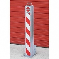 <u>RAM RRB/SQ8/HD <font face=''Arial'' color=''#cc0605''>Anti-Ram</font> Square Commercial Telescopic Bollard</u>