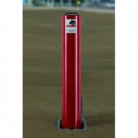 <u>Rhino RT/14/670/HD Lift Assist <font face=''Arial'' color=''#cc0605''> Anti-Ram</font> Round Commercial Telescopic Bollard</u>