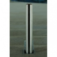 <u>Rhino RT/SS5 <font face=''Arial'' color=''#cc0605''>Anti-Ram</font> Commercial Round Stainless Steel Telescopic Bollard</u>