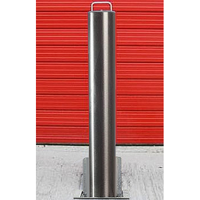 <u><strong>RAM RRB/S14<font color=''#cc0605'' face=''Arial''> Anti-Ram</font> Commercial Round Stainless Steel Telescopic Bollard</strong></u>