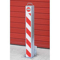 <u><strong>RAM RRB/SQ8/HD <font face=''Arial'' color=''#cc0605''>Anti-Ram</font> Square Commercial Telescopic Bollard</u></strong>