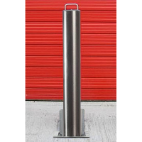 <u><strong>RAM RRB/S5 HD<font color=''#cc0605'' face=''Arial''> Anti-Ram</font> Commercial Round Stainless Steel Telescopic Bollard</strong></u>